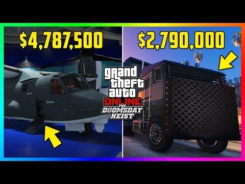 GTA Online The Doomsday Heist DLC - Avenger VS Mobile Operations Center! ($4,787,500 vs $2,790,000)