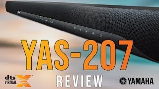 DTS Virtual-X In A SoundBar! (Yamaha YAS-207 Review)