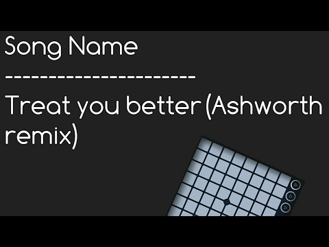 UniPad - Treat you better(Ashworth Remix) - By-Shawn Mendes