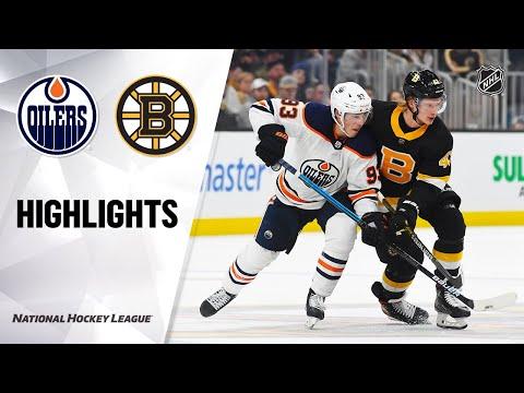 NHL Highlights   Oilers @ Bruins 01/04/20