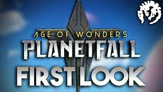 FIRST LOOK | Age of Wonders: Planetfall