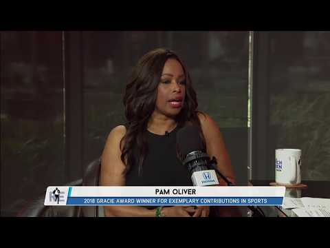FOX Sports' Pam Oliver on Her Gracie Award; Advice for Journalists ...