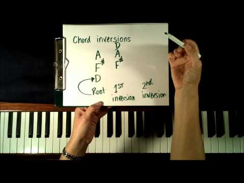 Learn to Play Chords on Piano - Inversions