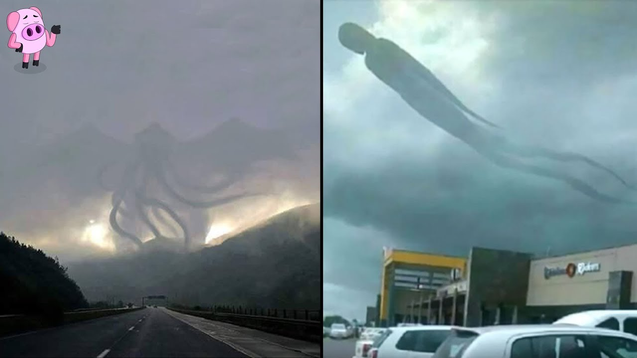 10 Strangest Things Ever Seen in The Sky
