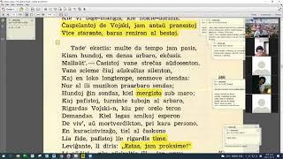 31 | Sinjoro Tadeo 4: 558-677 | Pan Tadeusz - 에스페란토 판 타데우시 4권 공부 (zoom)