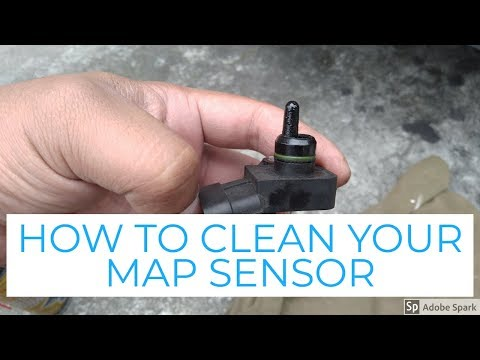 DIY HOW TO CLEAN YOUR MAP SENSOR FOR HYUNDAI EON (ENGLISH)