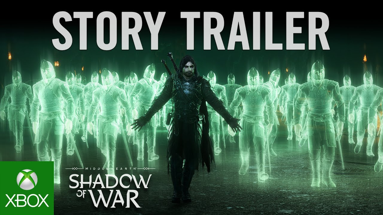 Official Shadow of War Story Trailer
