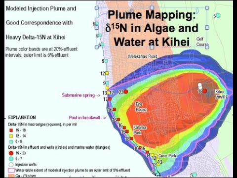 """Dec 9, 2015 Chip Hunt - """"Multi-Tracer Detection of Wastewater Effluent in  Groundwater Discharge"""""""