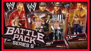 WWE Mattel Battle Pack Wrestling Action Figures Series 5   ft Triple H, Shawn Michaels & Jericho