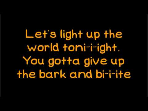 Glee - Light Up The World [Lyrics On Screen]