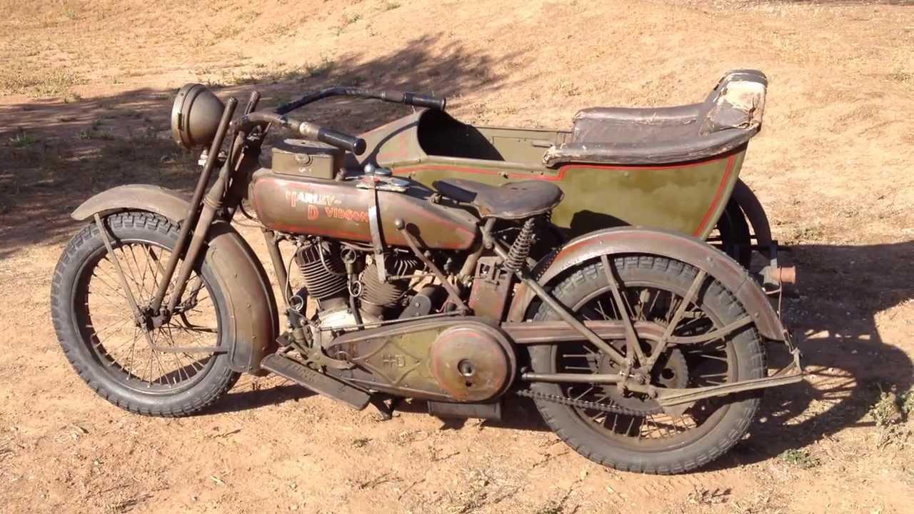 1919 harley davidson sidecar bud ekins original paint for for Original photography for sale