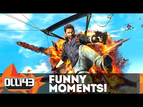 Just Cause 3 | EXPLOSIVE FUNNY MOMENTS MONTAGE!!