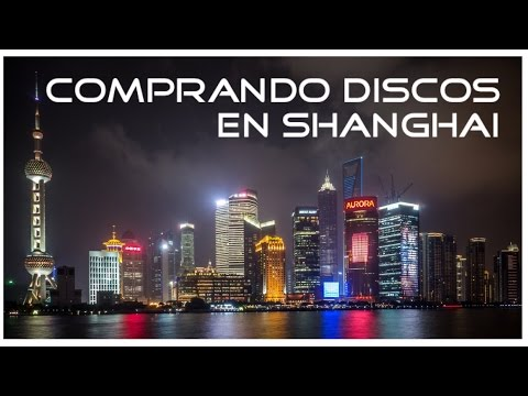 Las tiendas de discos de Shanghai: Comprando vinilos.