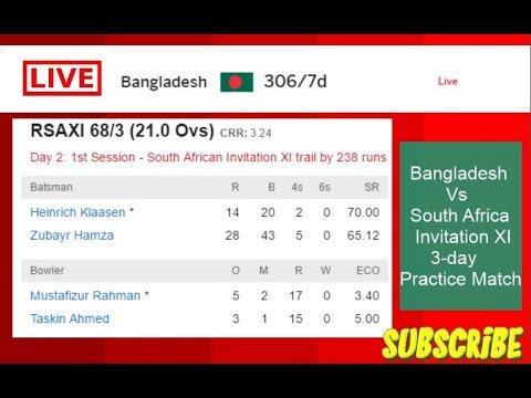 South african invitation xi vs bangladesh 3 day practice match south african invitation xi vs bangladesh 3 day practice match live streaming stopboris Image collections