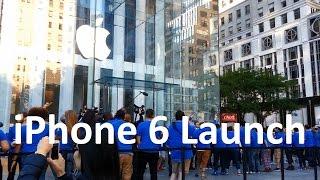 iPhone 6 / 6 Plus Launch New York City Apple Store