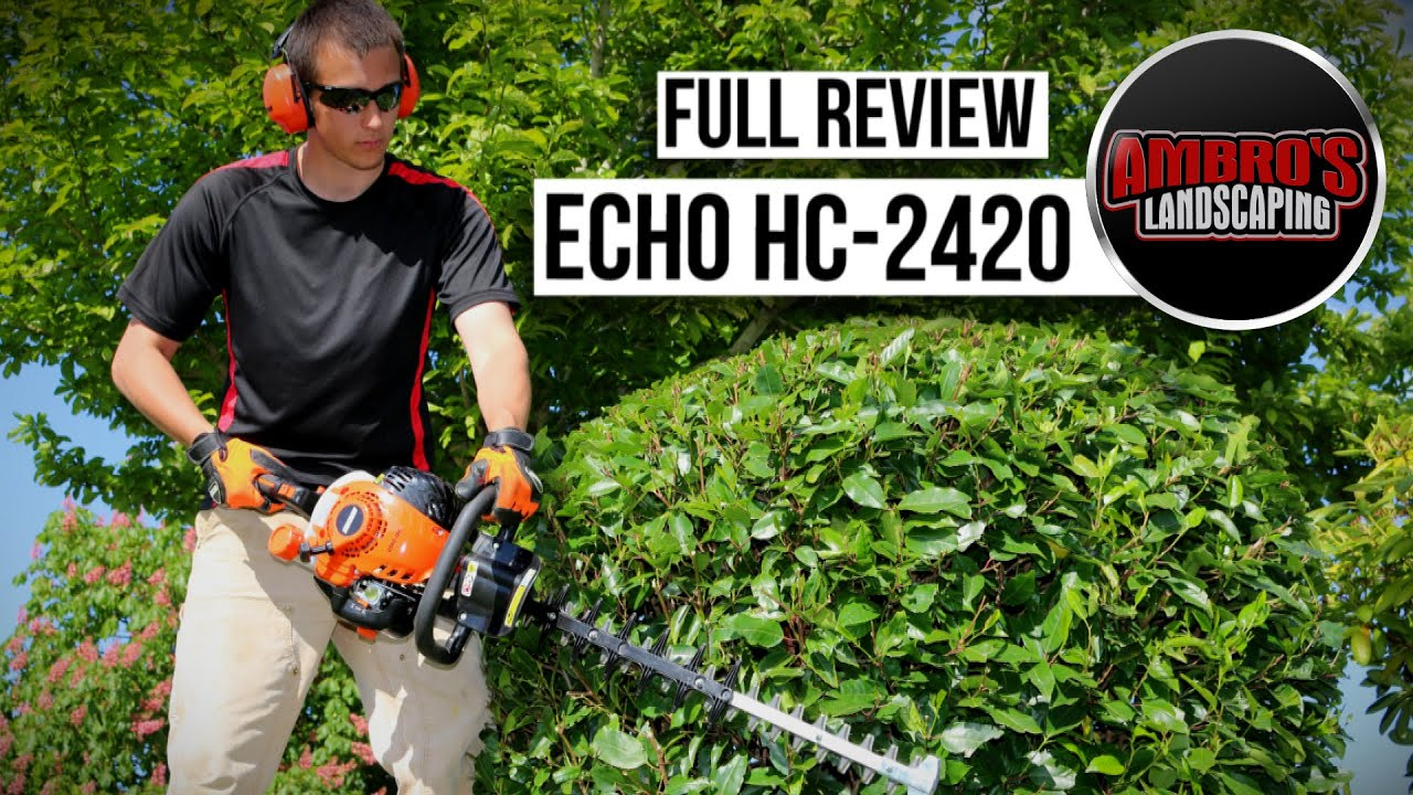 Echo HC-2420 Hedge Trimmer Review | Pros & Cons #Echoking