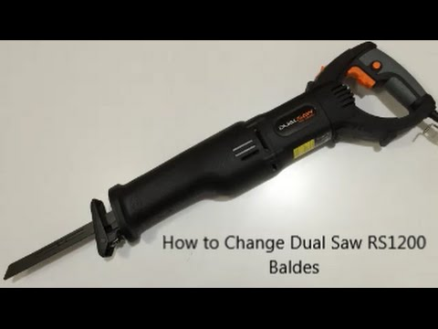 How to change dual saw blades youtube how to change dual saw blades greentooth Gallery