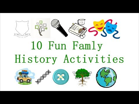 10 Fun Family History Activities