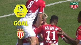 Goal Islam SLIMANI (39') / AS Monaco - Nîmes Olympique (2-2) (ASM-NIMES) / 2019-20