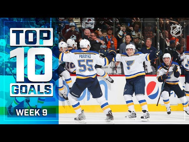 Top 10 Goals from Week 9