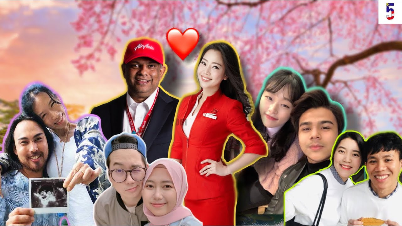 5 Orang Malaysia Berkahwin Dengan Orang KOREA Yg Ramai Tak Tahu