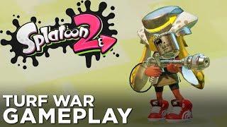 SPLATOON 2 Turf War: Aerospray MG Gameplay!