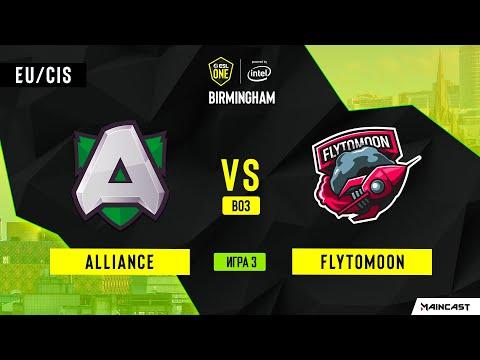 Alliance Vs FlyToMoon (Игра 3) | BO3 | ESL One Birmingham 2020