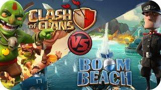 Clash Of Clans Vs Boom Beach