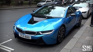 My First Drive in the BMW i8 [Shmee
