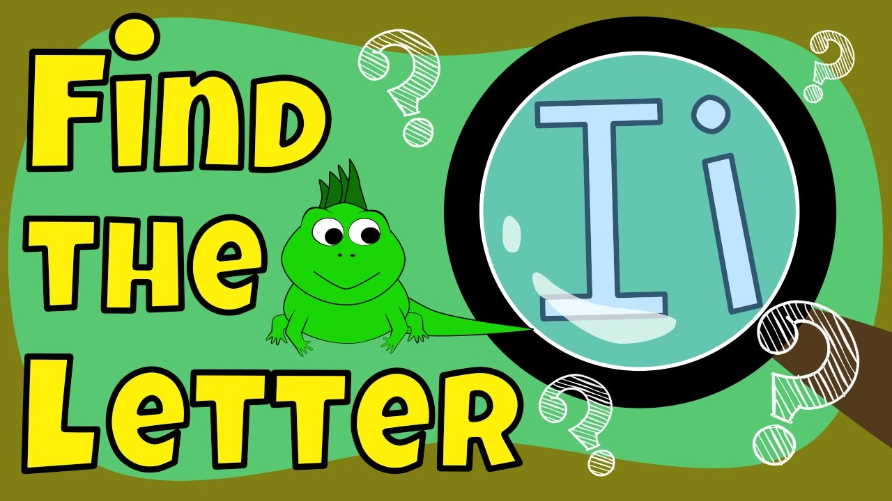 Alphabet Games | Find the Letter I - YouTube