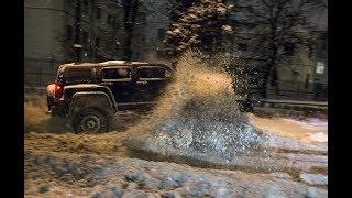 Адское Жогово - Трамвай Пати город. Питерский снег - повод НЕ СИДЕТЬ ДОМА!