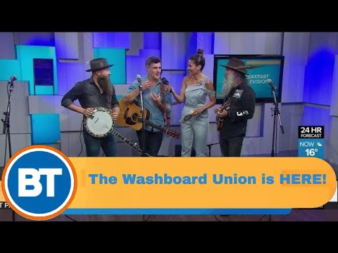 The Washboard Union is HERE
