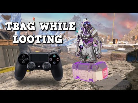 How i move while looting on console! Apex Legends Best Settings