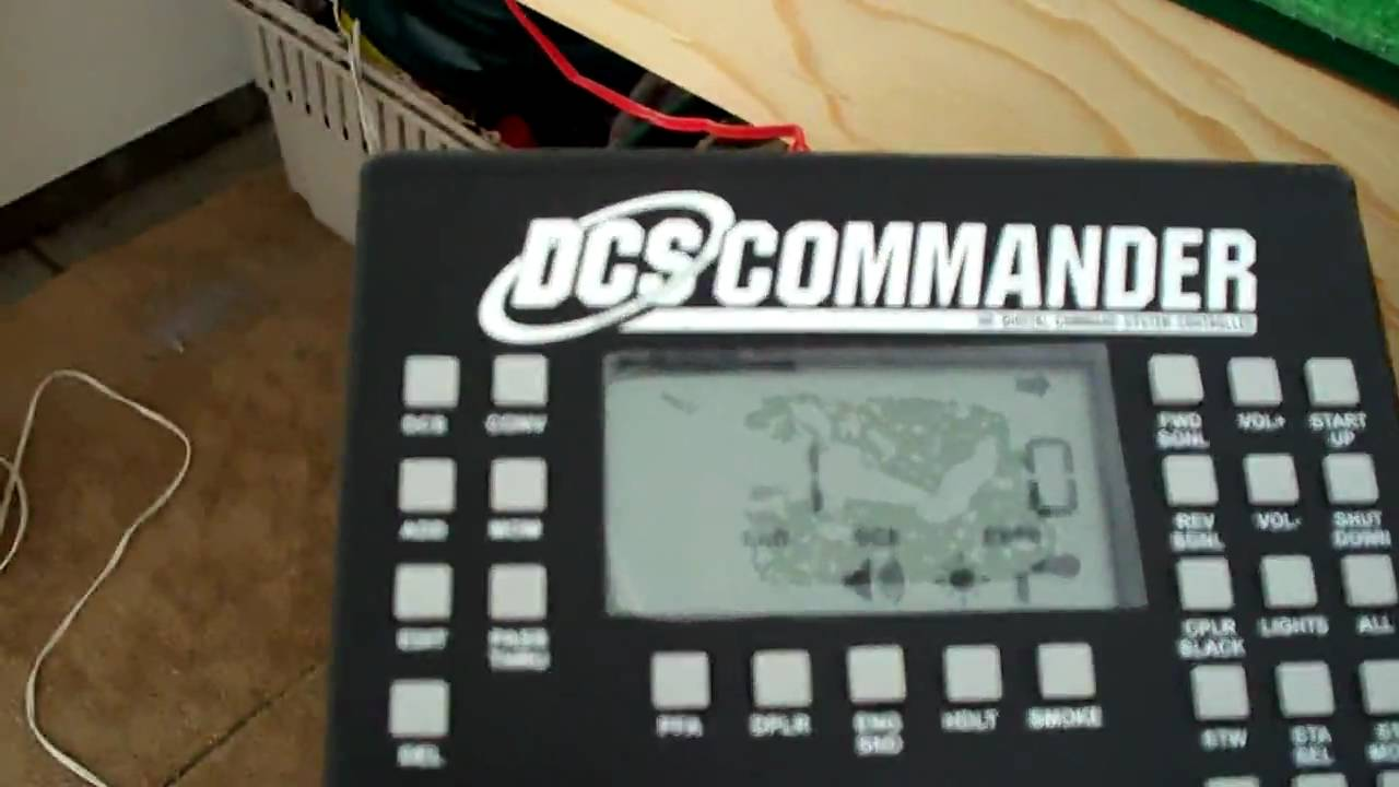 Mth Dcs Wiring Diagram Trusted Diagrams Schematic A Quick Look At The Commander And Its Abilities Youtube Basic Schematics Symbols
