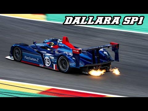 Dallara's 2001 Le Mans Prototype Makes an Intoxicating Sound