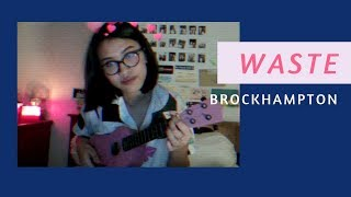 WASTE - BROCKHAMPTON (Ukulele Cover)
