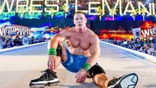 all the wrestlers who beat john cena in wwe