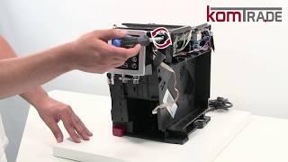 ECAM Bedienplatine/Displaymodul ausbauen-ersetzen-tauschen Delonghi Ersatzteile Reparaturanleitung