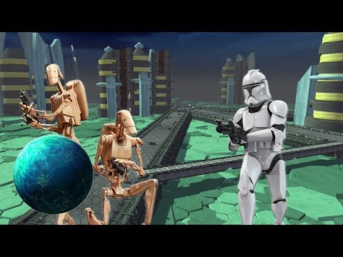 The Clankers Of Christophsis ! Epic Clone Battle of Christophsis - Star Wars GAW Mod