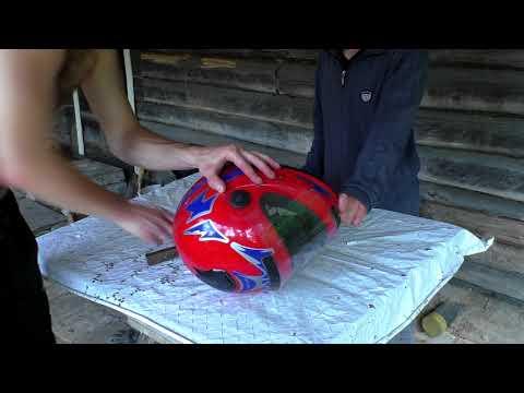 делаем ВИЗОР для шлема