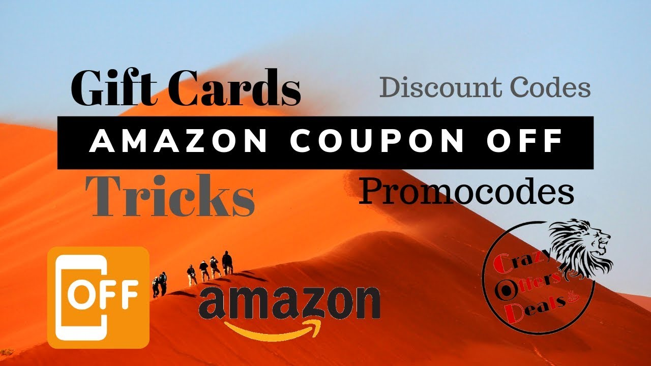 How To Apply Amazon Coupon Off | Amazon Discount PromoCode off | Amazon  Gift card Off