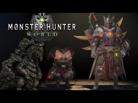 "Monster Hunter World - ""Full Set of Zorah Magdaros Armor!""...Is The Grind Worth it? - #MHW"