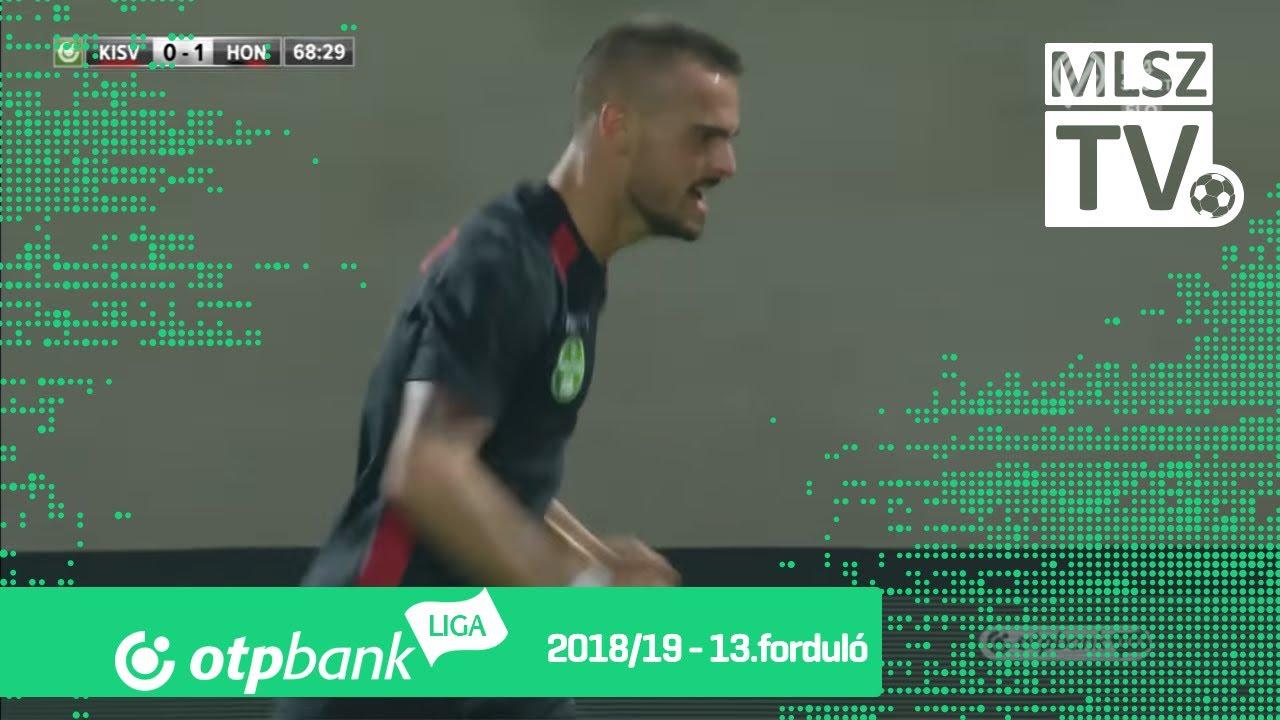 Holender Filip második gólja a Kisvárda Master Good - Budapest Honvéd mérkőzésen