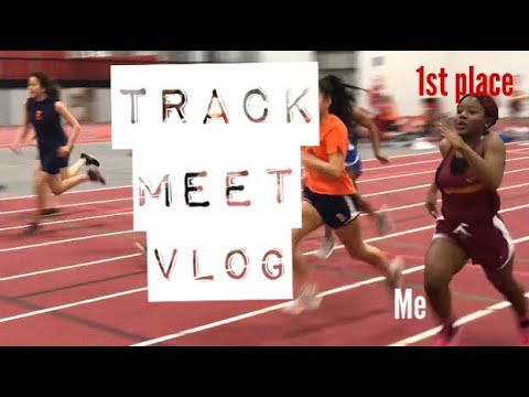 TRACK MEET VLOG| 55 Meter Dash+ Shot Put