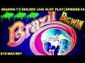 Brazil Slot machine $5.00 beat bonus round - YouTube