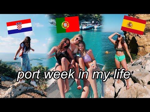 PORT WEEK IN MY LIFE || Semester at Sea