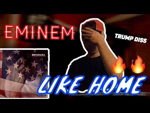 EMINEM - LIKE HOME   REACTION!!!