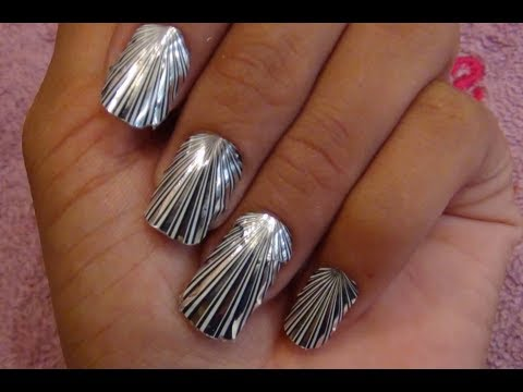 Foil Nail Art Tutorial