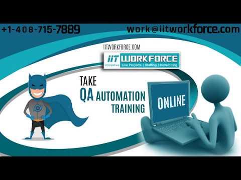 QA Automation Training | iitworkforce
