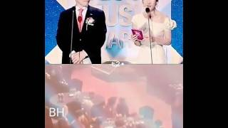 Baekhyun reaction taeyeon Win In Seoul Music Awards 2017